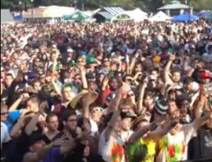 DJ Reel Drama @ The Boston Freedom Rally 2012 (clip)