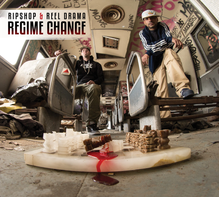 Ripshop & Reel Drama - Regime Change (cover art)