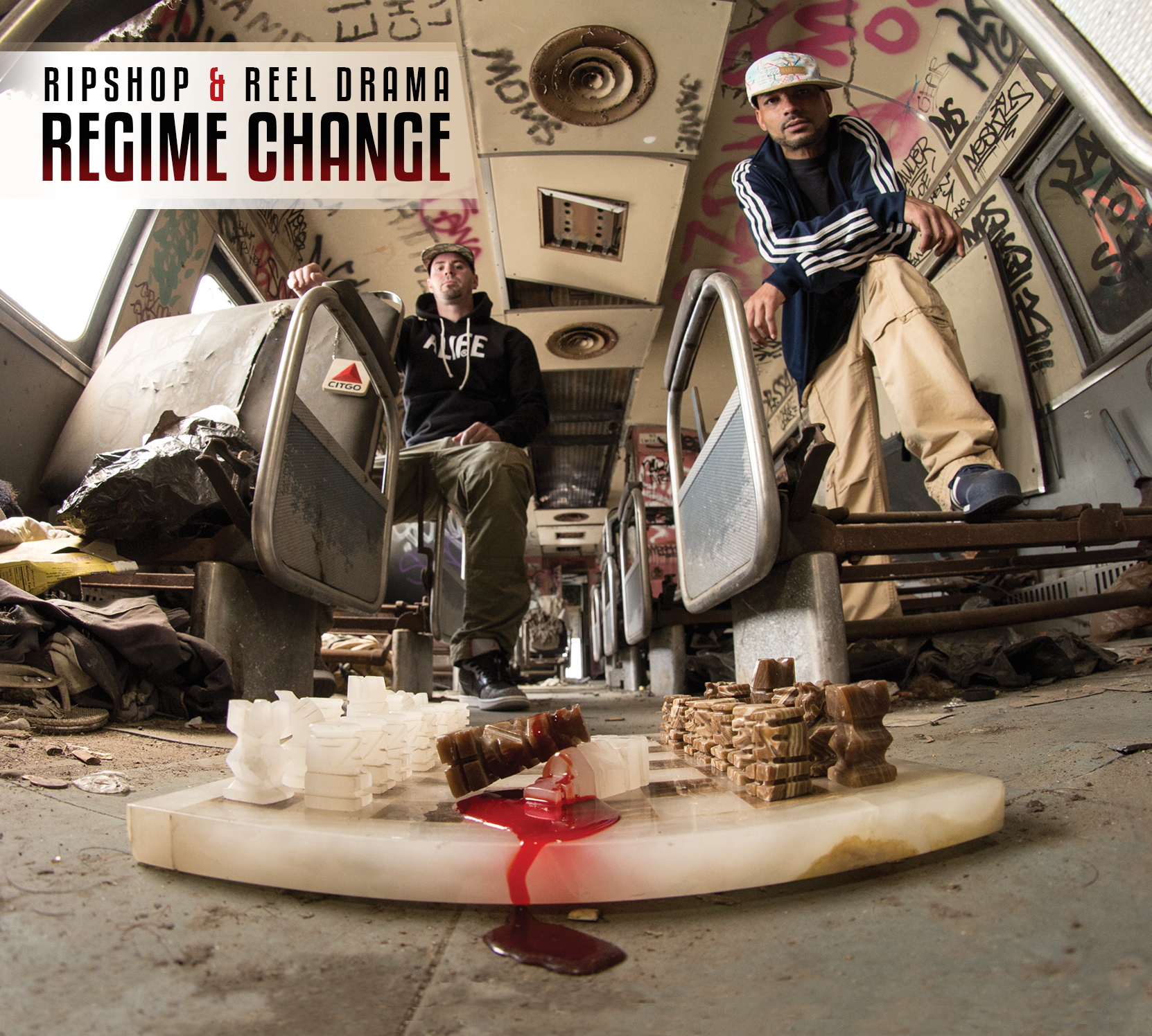 Ripshop & Reel Drama - Regime Change (cover art)